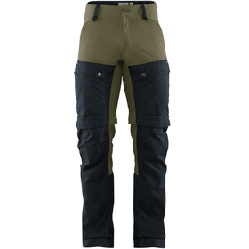 Fjällräven Keb Gaiter Broek Heren, dark navy/light olive